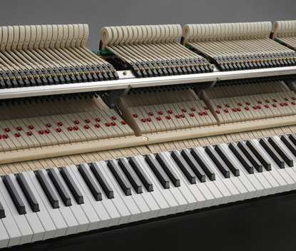 Phím đàn dài hơn piano kawai gl 40