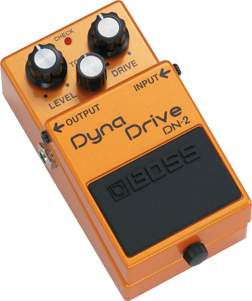 Effect Boss Dyna Drive DN-2 là một sản phẩm thú vị của overdrive pedal phản ứng với cường độ của hiệu suất của bạn.