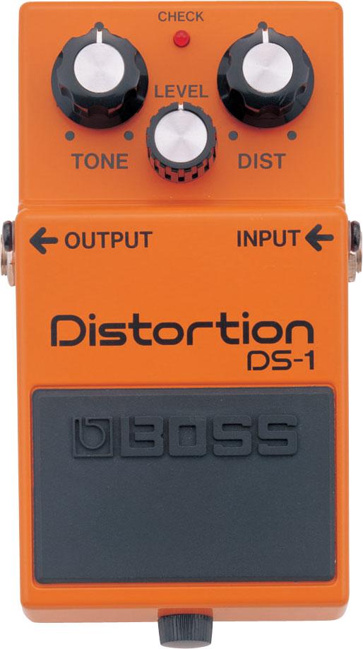 Effect Boss Distortion DS-1 cổ điển! Thêm một số hiệu ứng hard-edged distortion trong khi giữ lại những sắc thái tinh tế trong tính năng động khi chơi. Kiểm soát Tone được cung cấp để dễ dàng định dạng âm thanh.