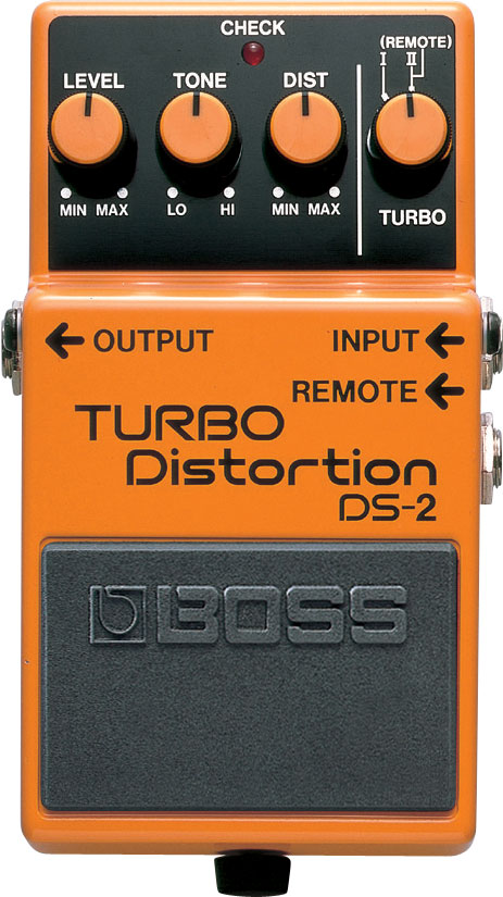 Effect Boss Turbo Distottion DS-2 có tính năng twin modes cho phạm vi mở rộng của hiệu ứng distortion, đưa bạn từ giai điệu blues-rock đến thiêu đốt các khán giả trong một bàn đạp nhỏ gọn.