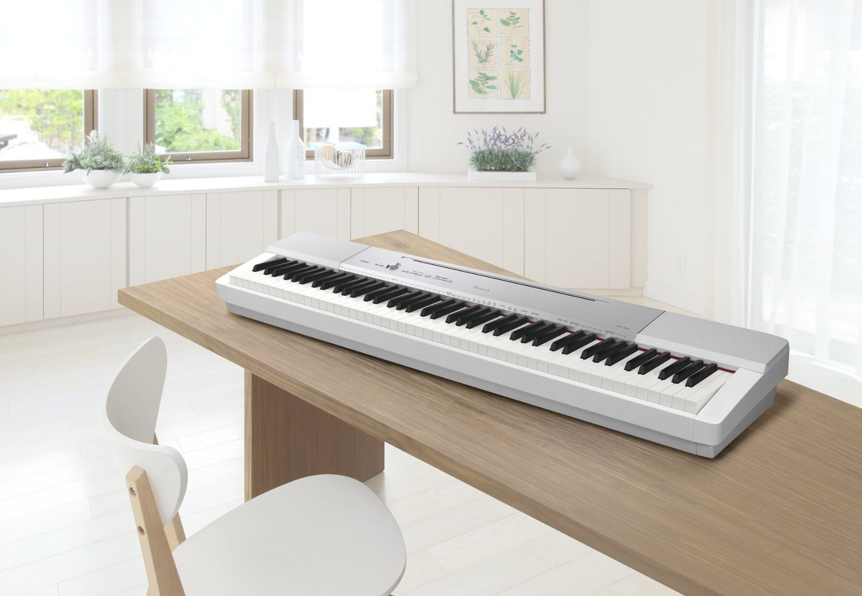 Đàn Piano Casio PX-150 với Nguồn âm thanh Morphing AiR đa chiều, Bàn phím hoạt động cảm biến thế hệ II