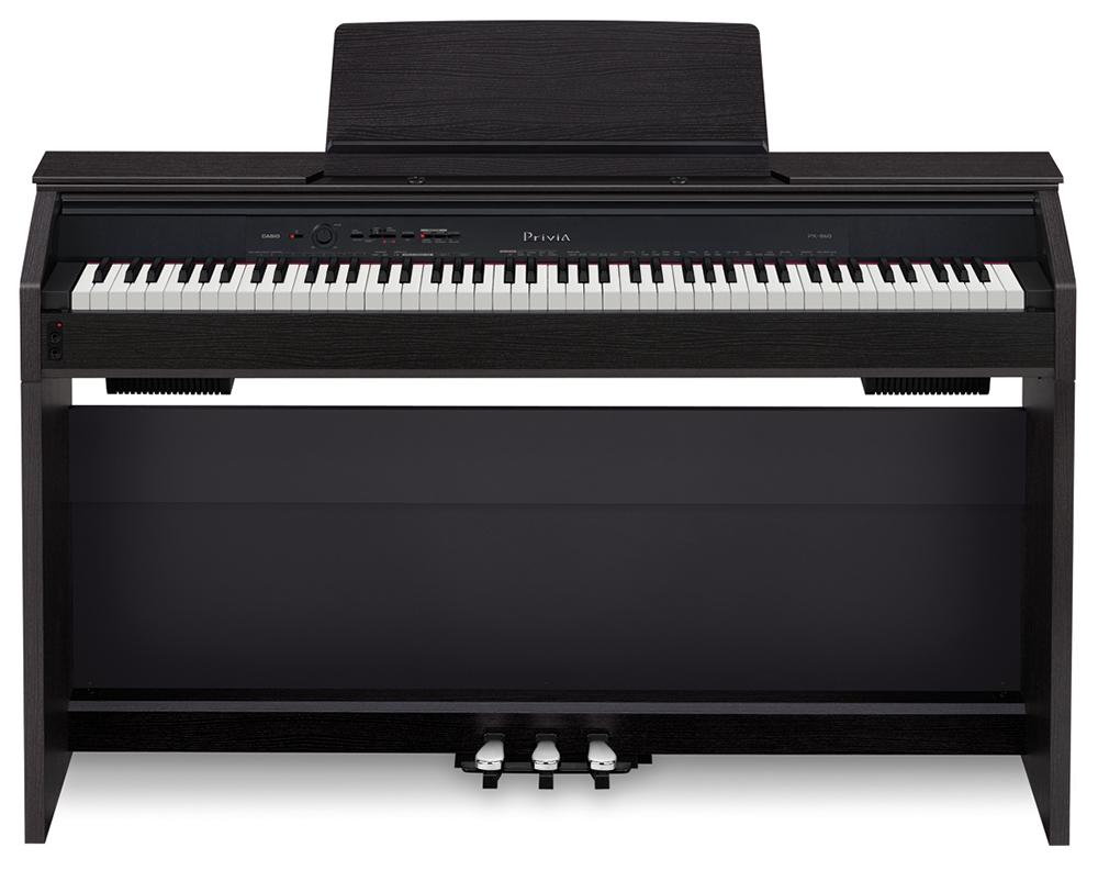 Đàn Piano Casio PX-860 có nguồn âm thanh Morphing AiR đa chiều đem lại sự cộng hưởng âm thanh vốn có của đàn Piano