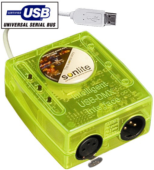 GRAND PLAN 512 BOX - DMX 512 USB
