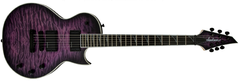 Đàn Guitar Jackson Pro Series Monarkh SC, Ebony Fingerboard, Quilt Maple Top, Transparent Purple Burst