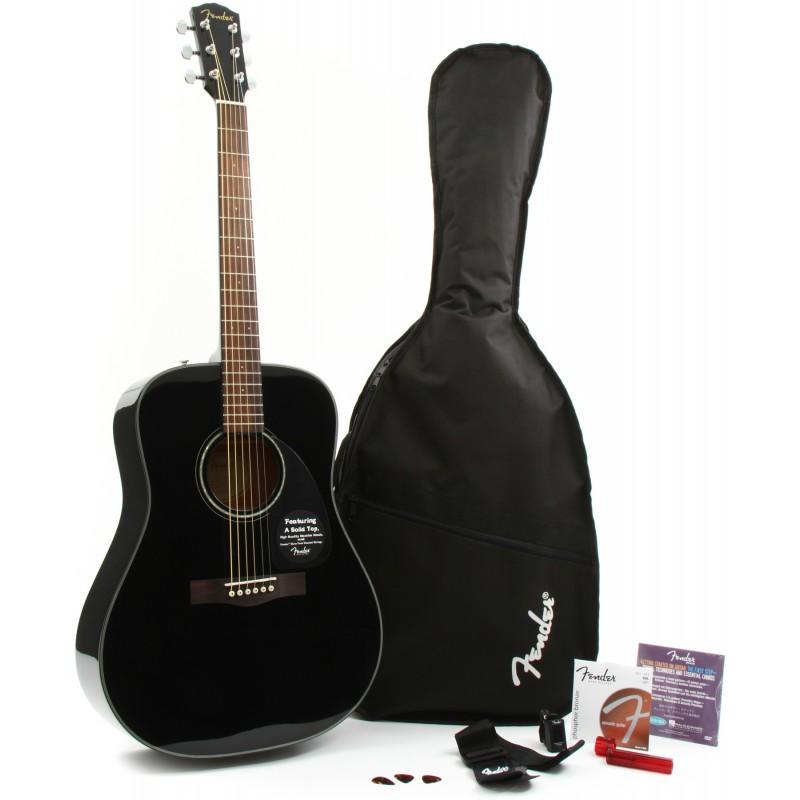 Fender DG-8S Acoustic Pack BK
