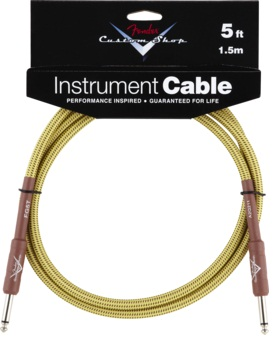 "Fender- C.shop 5"" Inst Cable Twd"