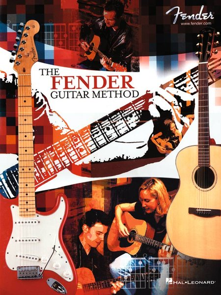BOOK - 699012 FENDER GUITAR METHOD