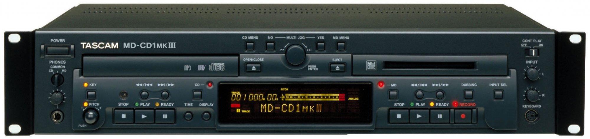 TASCAM MD-CD1 MKIII