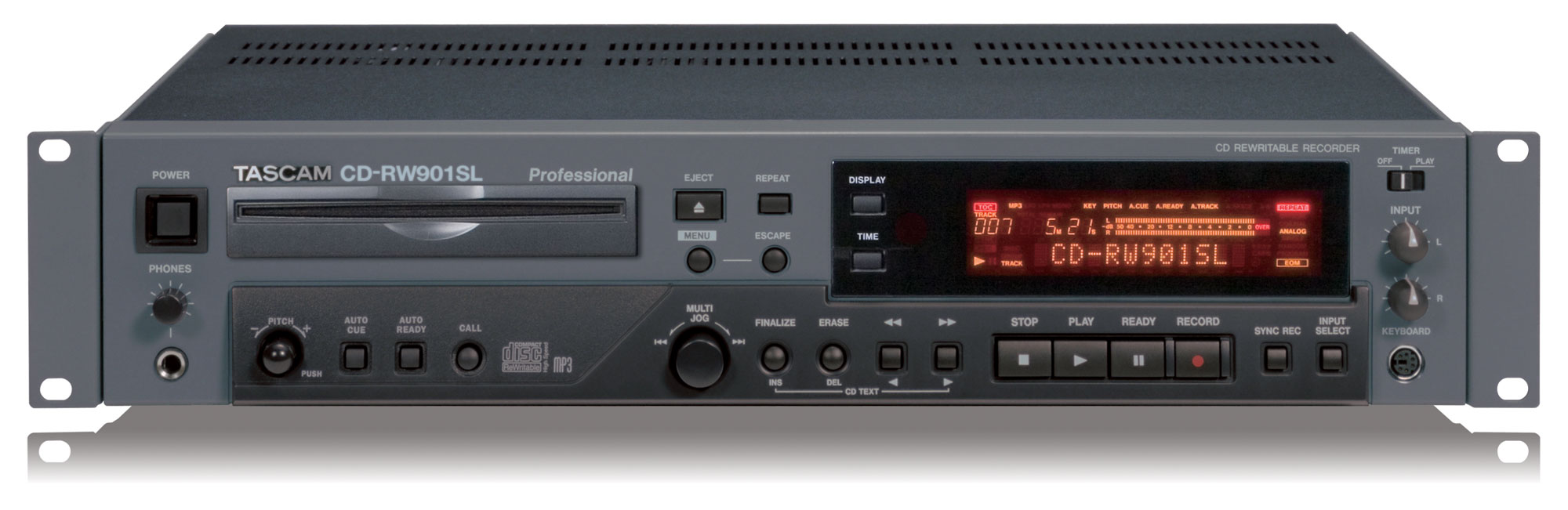 TASCAM CD – RW 901 MkII
