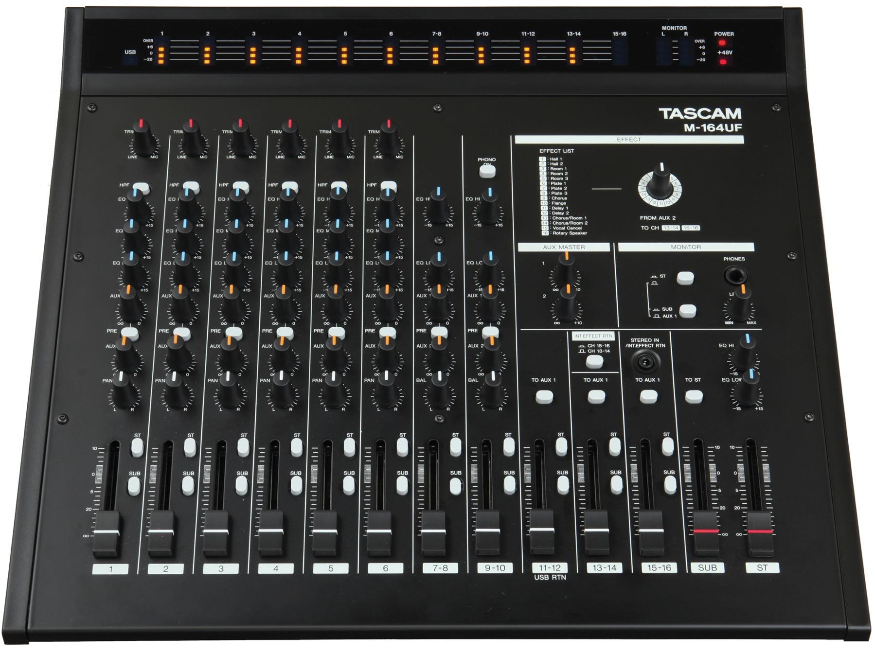 Mixer Tascam M164UF