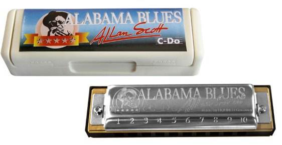 Hohner Diatonic Blues Alabama ( key C )