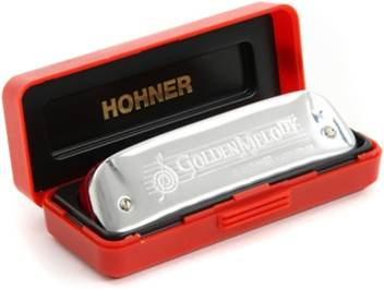Hohner Diatonic Golden Melody key C