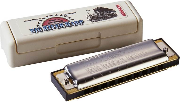 Hohner Diatonic Big River Harp