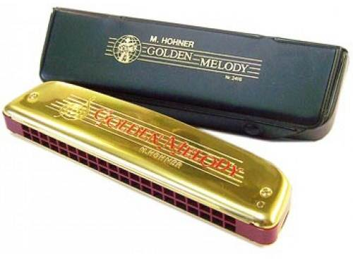 Kèn Harmonica Tremolo Hohner Golden Melody