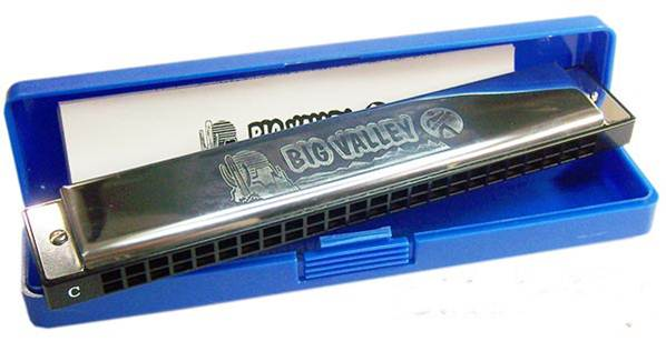 Kèn Harmonica Tremolo Hohner Big Valley 48