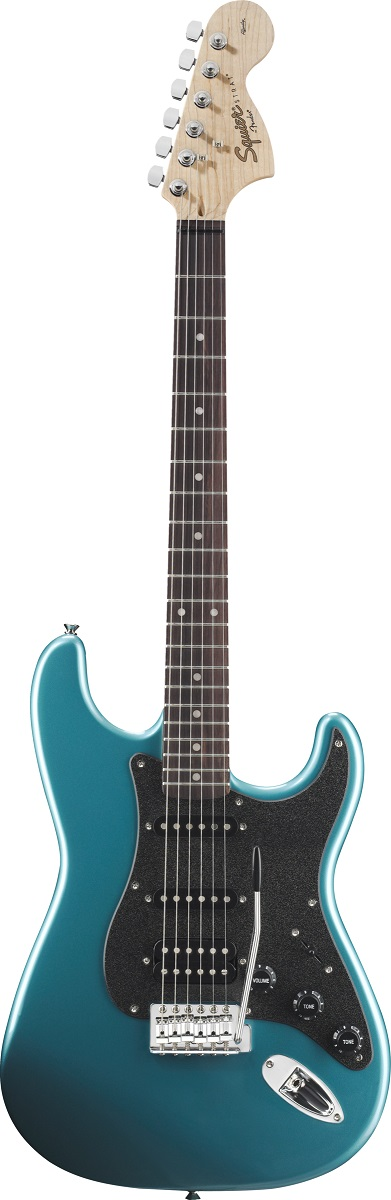Đàn Guitar Squier Affinity Series Stratocaster HSS, Lake Placid Blue