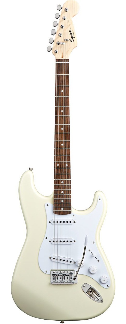 Đàn Guitar Squier Bullet Strat with Tremolo, Arctic White