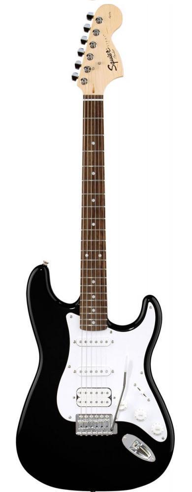 Đàn Guitar Squier Standard Stratocaster HSS, Black Metallic