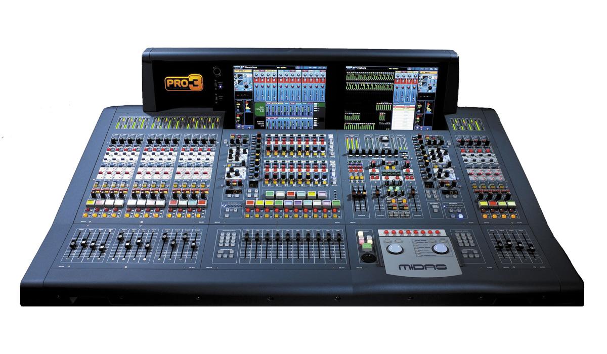Midas Mixer digital Pro3